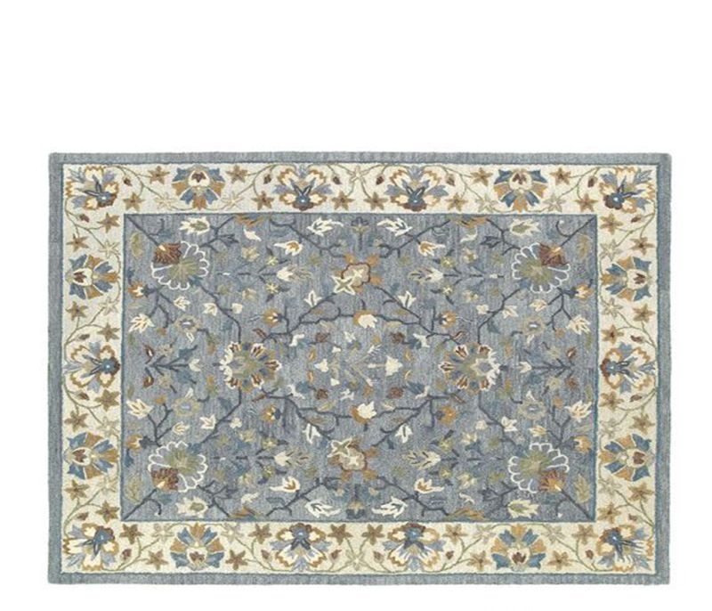 Alton Pewter Rug 5 X7 6 Pattern
