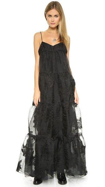 Free people black wedding dress