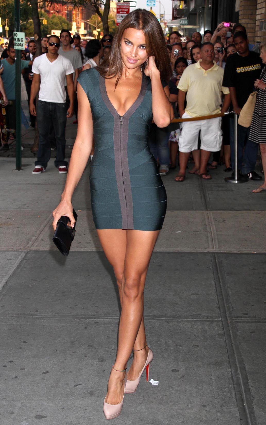 bd40fa04fa3 Irina Shayk - it is ok to wear your dress