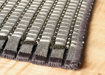 industrial wool felt rugs made from 85% recycled material all from