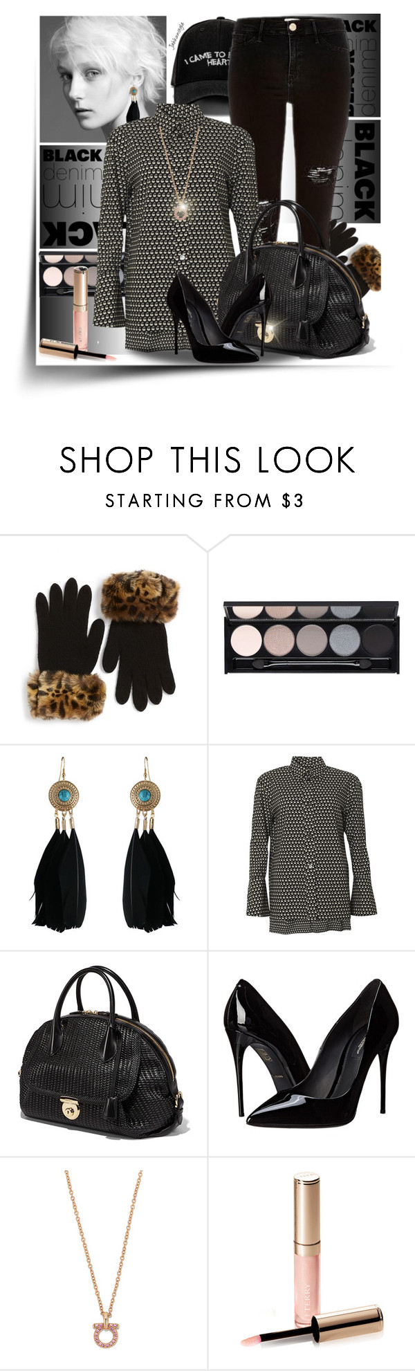 """""""Skinny"""" by jahkun ❤ liked on Polyvore featuring Manolo Blahnik, Parkhurst, River Island, Witchery, Chicnova Fashion, Marni, Dolce&Gabbana, By Terry, women's clothing and women's fashion"""