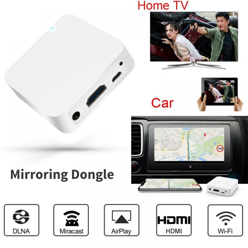 Wireless Wifi Display Adapter HDMI audio video Stick Airplay Dongle for ios andriod phone to Car & TV for iPhone X XS MAX XR 6 7 #audiovideo