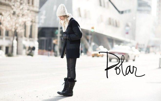 Polar Minimalist Fashion S Habiller Jours De Neige Et