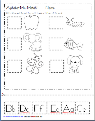 Maggie's Kinder Corner: Back to School...and a FREEBIE for ...