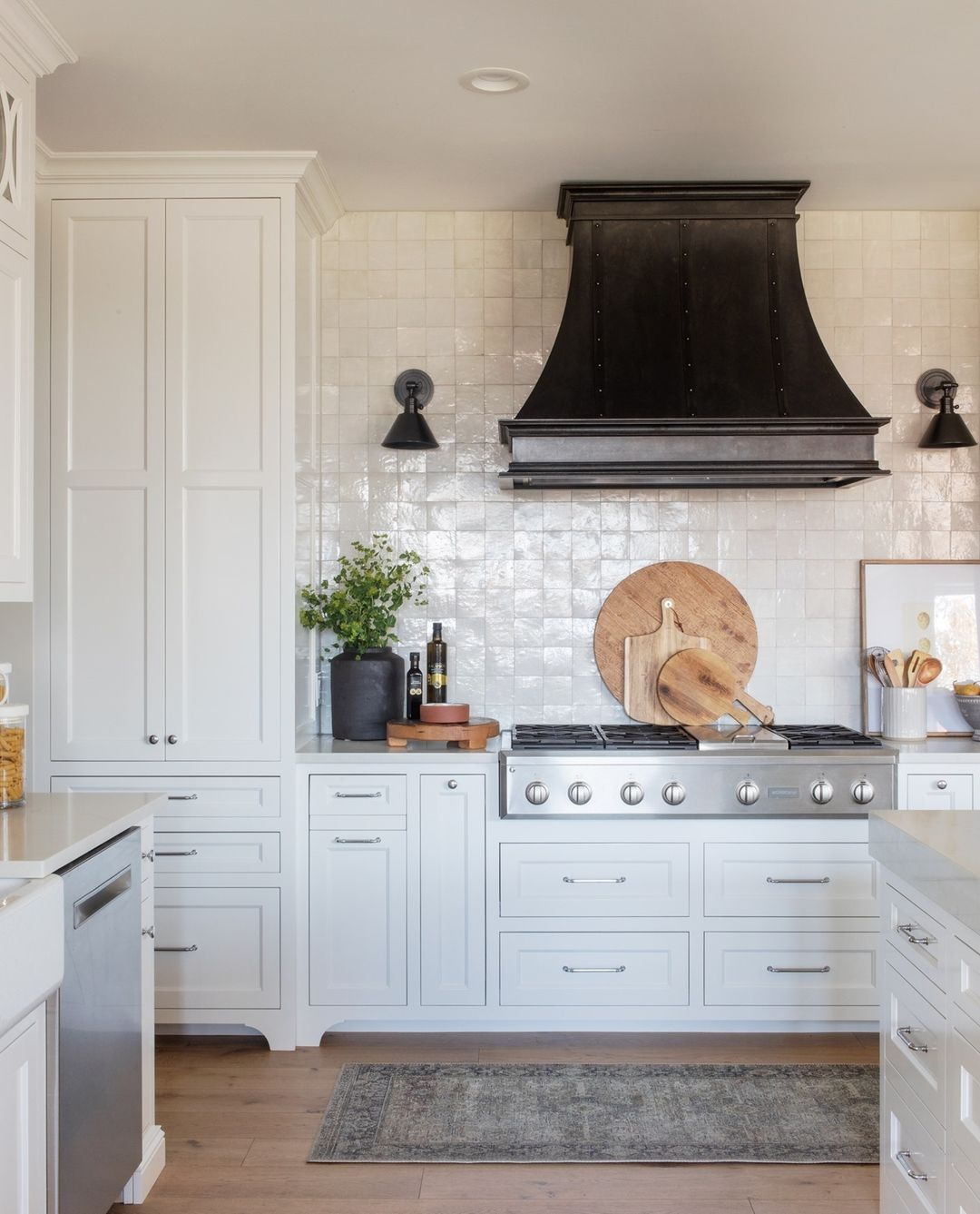 Scout Nimble On Instagram Our Favorite Finishing Touch In The Kitchen A Runner Lucky For You We Ha Kitchen Design Kitchen Post Painting Kitchen Cabinets