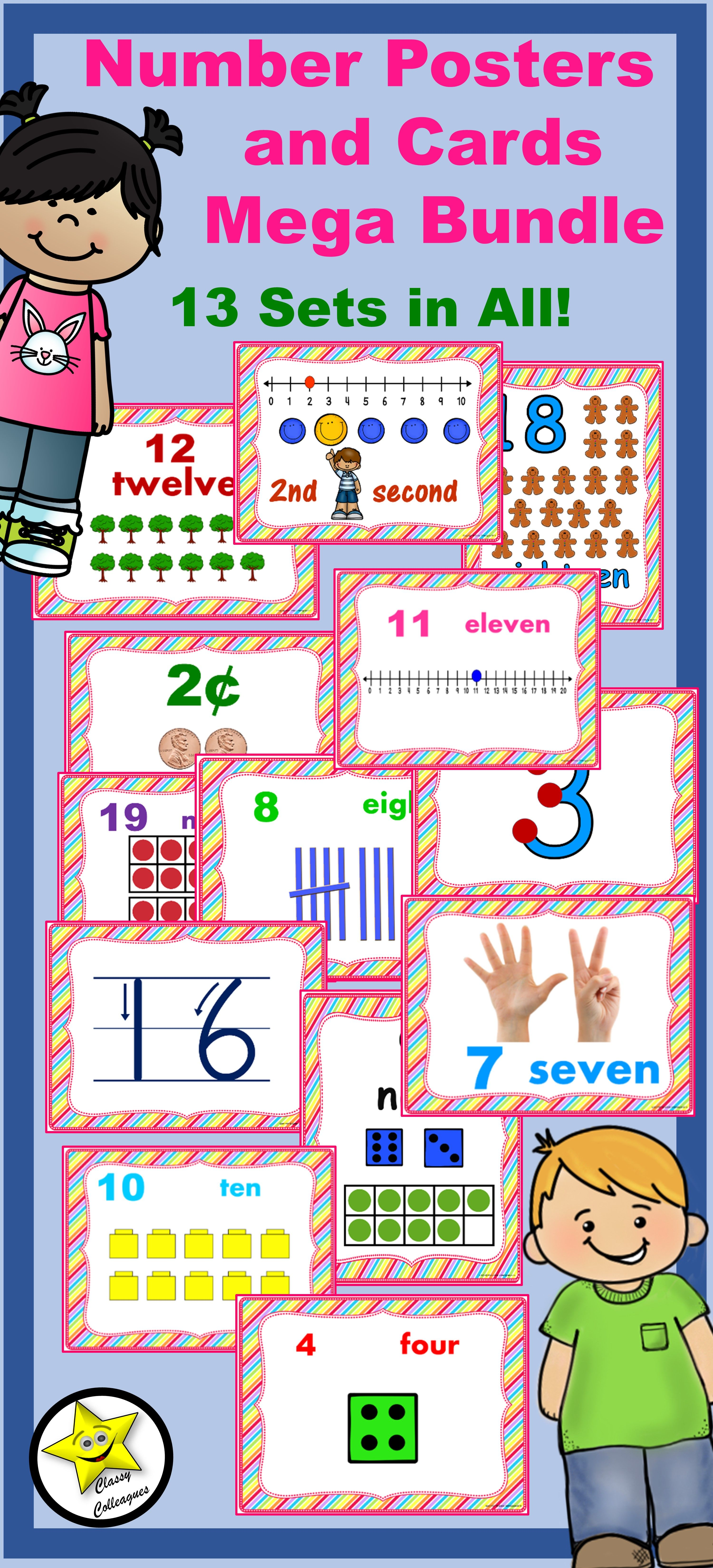 Ways To Write Numbers Anchor Chart Number Anchor Charts Math Anchor Charts Classroom Charts