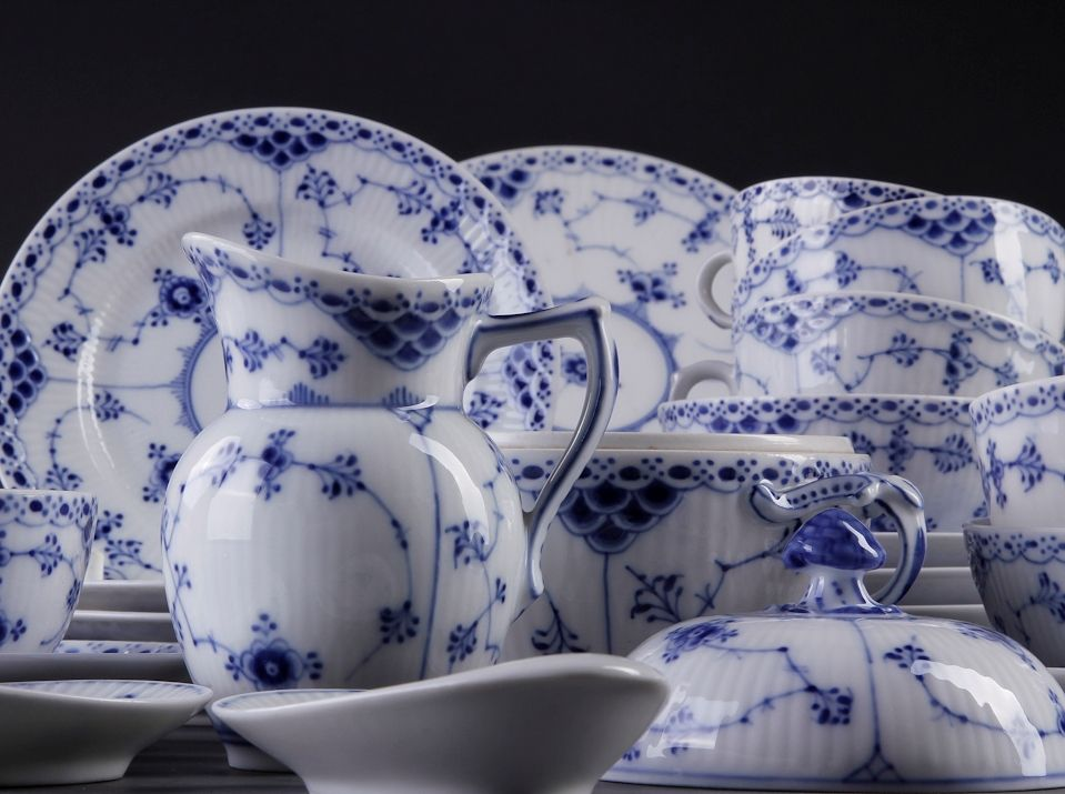 Royal Copenhagen Blue Fluted