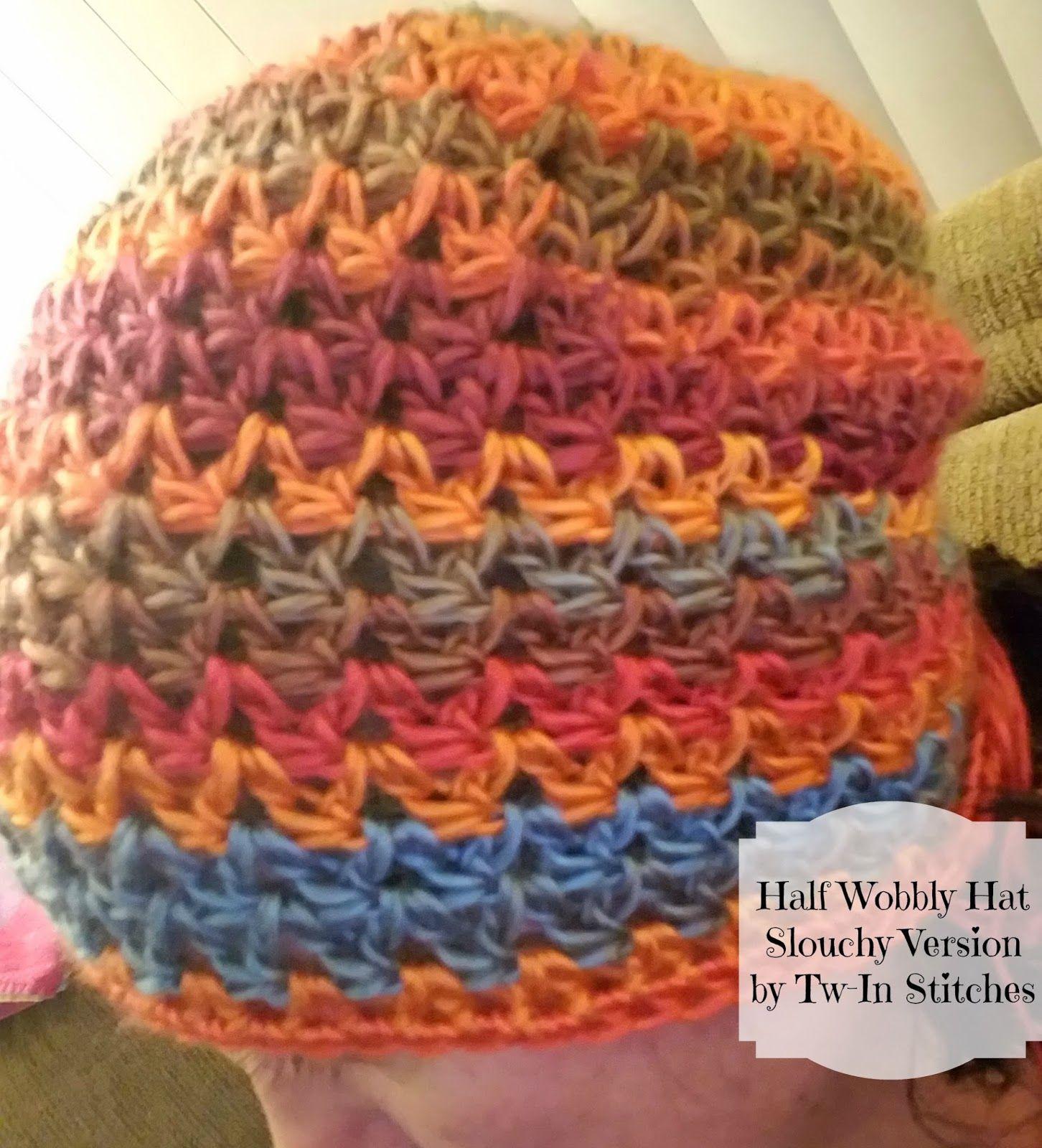 Half wobbly hat pattern using super bulky yarn recently i had crochet half wobbly hat pattern using super bulky yarn bankloansurffo Choice Image