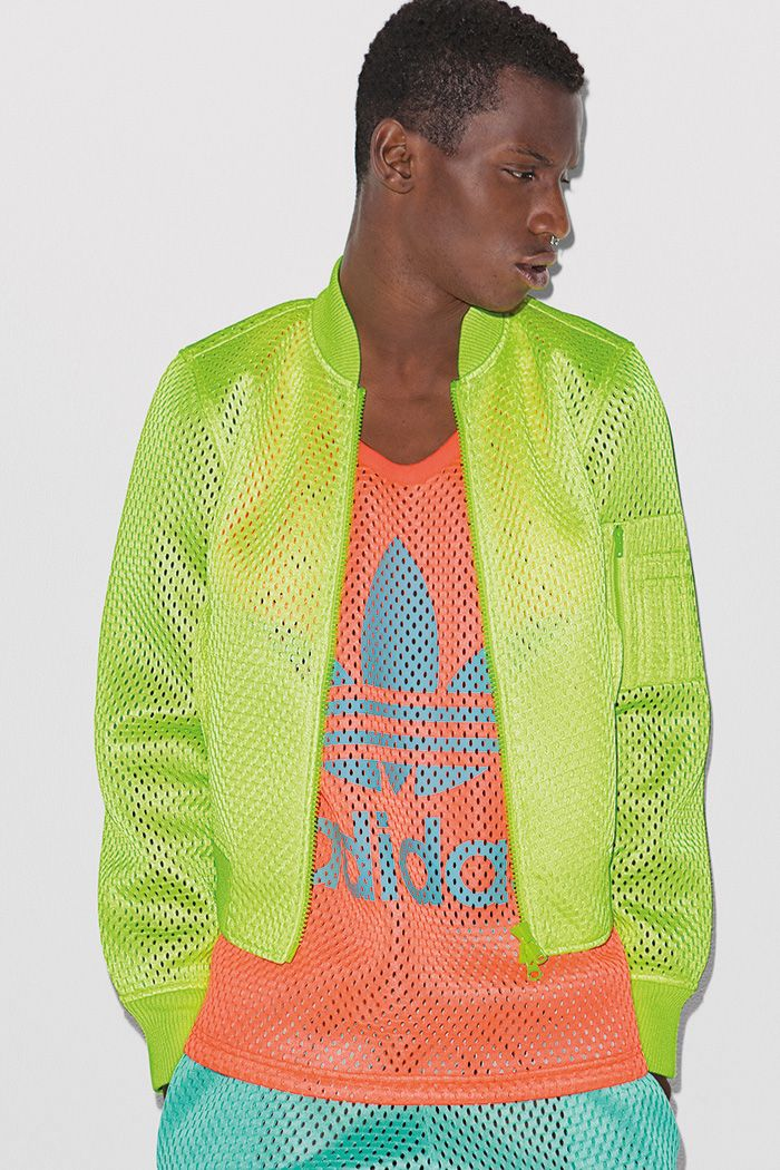 Jeremy Scott Adidas Originals Primavera / Verano 2014 neones