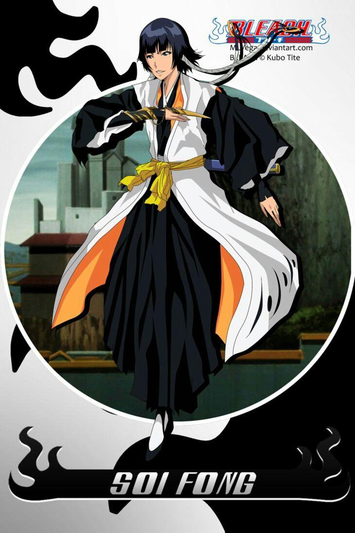 Soi Fon Squad 2 Captain Bleach