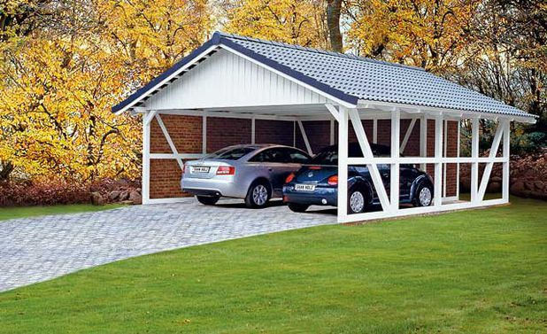 carport bausatz outbuildings pinterest satteldach fachwerk und euro. Black Bedroom Furniture Sets. Home Design Ideas