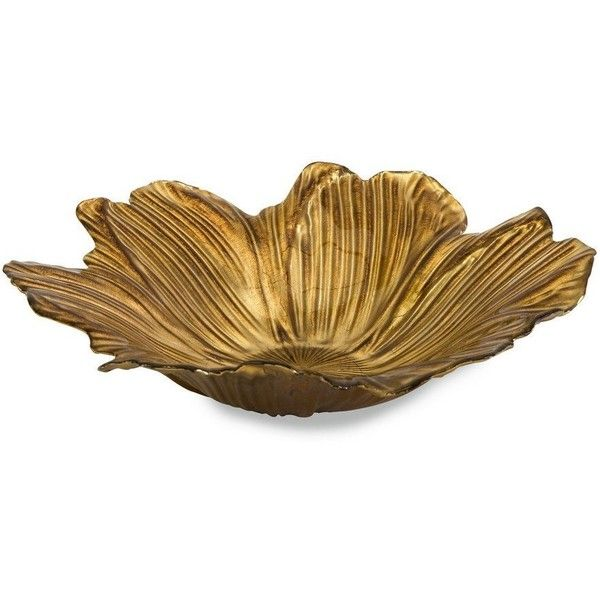Decorative Colored Glass Bowls Gorgeous Imax Marquette Floral Glass Bowl 503475 Idr ❤ Liked On Inspiration Design