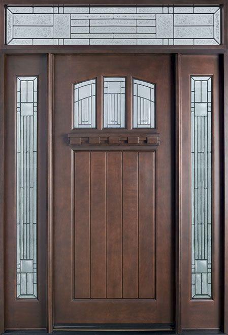 Glenview Doors Inc Solid Wood Entry Doors Exterior Wood Doors