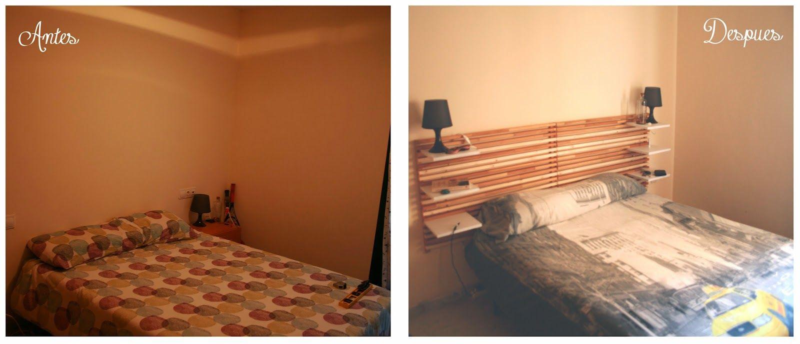 cabecero cama reciclado con maderas diyambo diyambo pinterest cabecero inspiracin ikea y camas de matrimonio