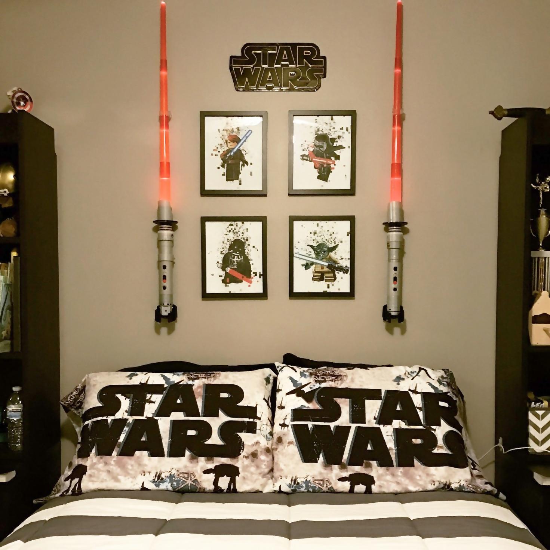 Cool Star Wars Bedroom Decor Ideas Star Wars Bedroom Star Wars