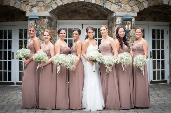 262d3fea5b06 bill levkoff latte wedding Latte Bridesmaid Dresses, Beige Bridesmaids,  Bridesmaid Flowers, Bill Levkoff