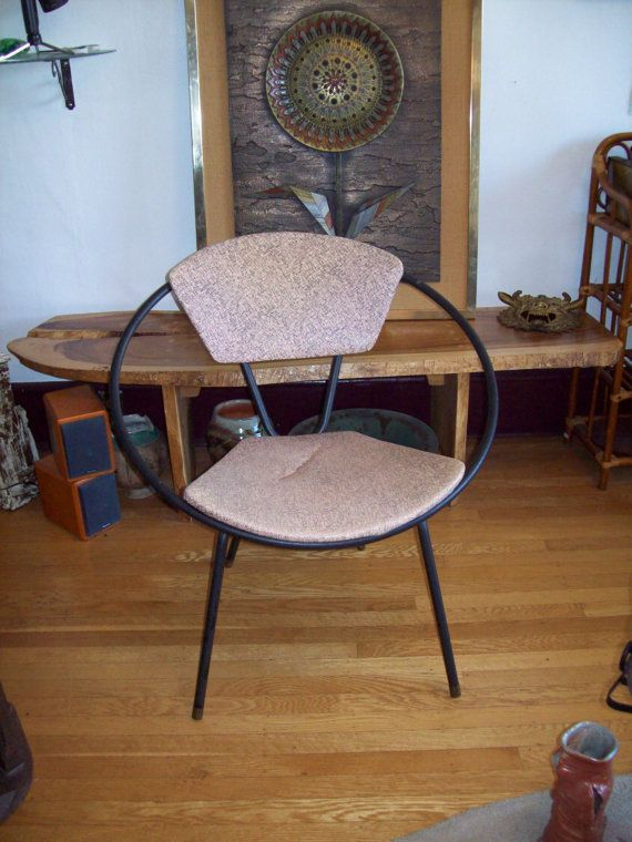 Jon Hauser Hoop / Circle Chair   Mid Century Modern Retro Patio And Home  Decor