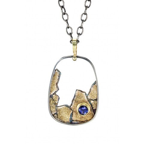jenny reeves - Cobblestone cut-out with iolite