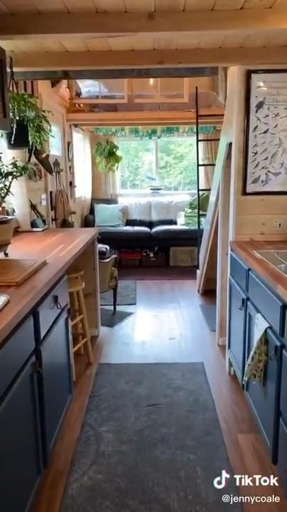 16x40 Shed House Interior
