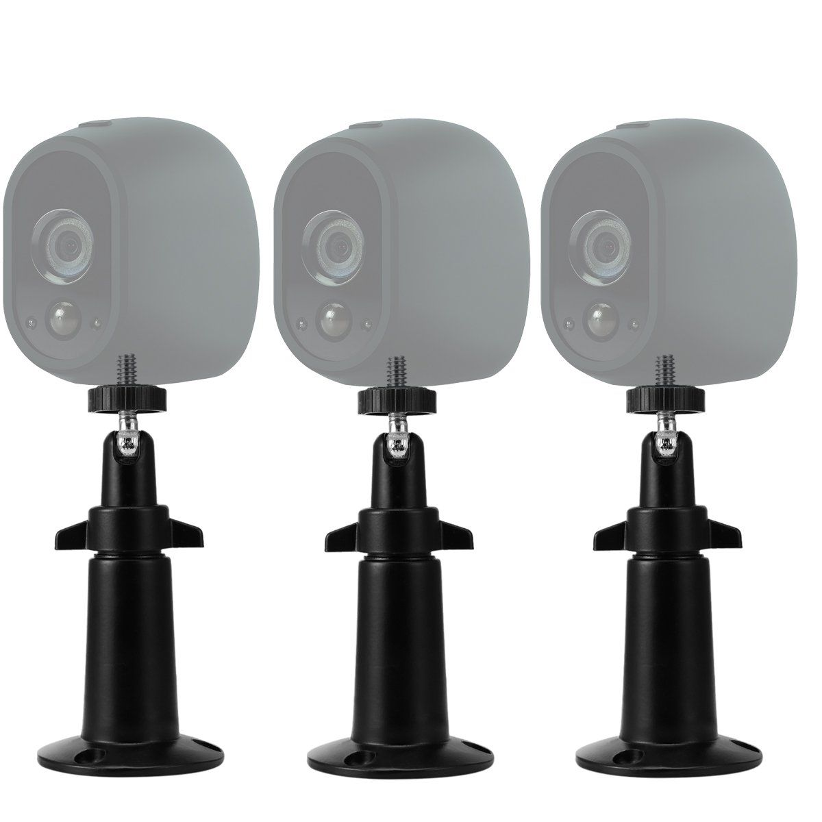 Arlo Security Wall Mount Lanmu Wall Mount For Netgear Arlo And Arlo Pro Wire Free Cameras Pack Of 3 Black Cameras For Sale Surveillance Cameras Camera