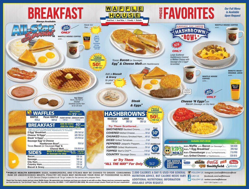 Harley Davidson And Waffle House Yelp Waffle House Menu Waffle House Waffle House Menu Prices