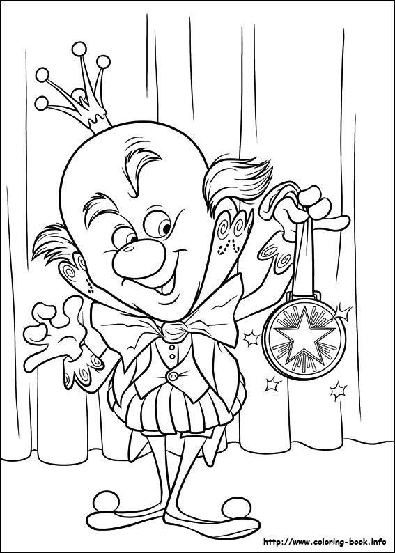 Wreck It Ralph Coloring Picture Dibujos O Moldes Dibujos Para