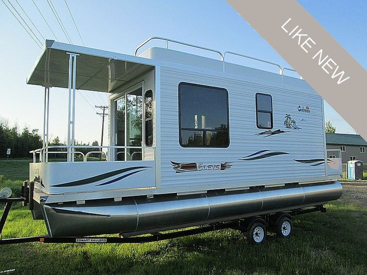 Image Result For Mini Small Houseboat Pontoon Houseboats