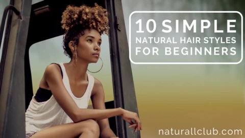 10 Simple Natural Hairstyles For Beginners Natural Hair Styles Easy Professional Natural Hairstyles Natural Hair Styles
