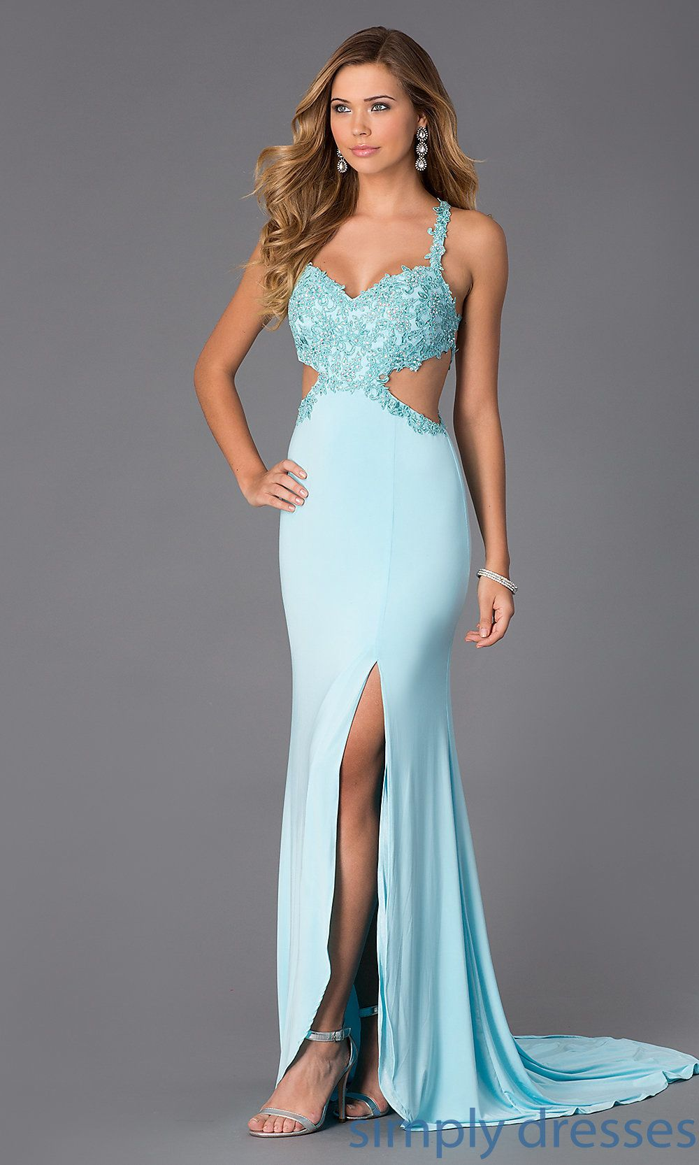 Alyce Sweetheart Neckline Open Back Prom Dress | PROM | Pinterest ...
