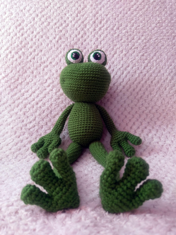 Amigurumi Frog #amigurumi #crochet #handmade | Szydełkowe Cudarki ...