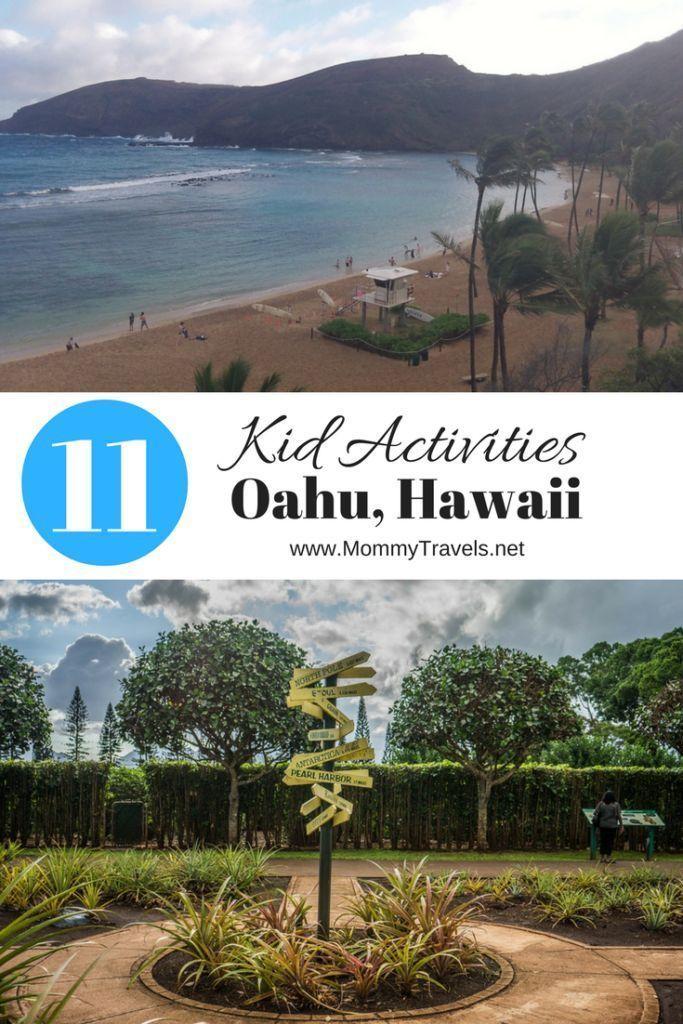 11 activities for kids in Oahu Hawaii