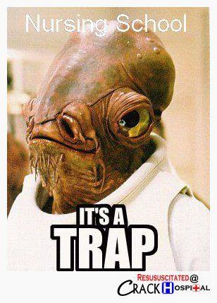 Nursing School Star Wars Memes Funny Mormon Memes Admiral Ackbar