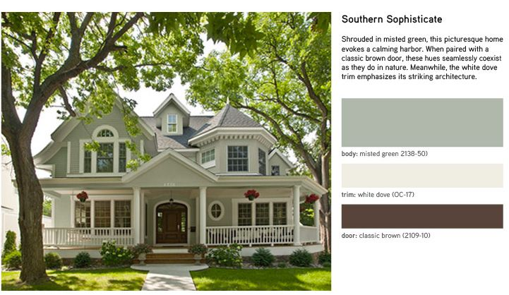 image result for guilford green exterior house paint on best benjamin moore exterior colors id=69986