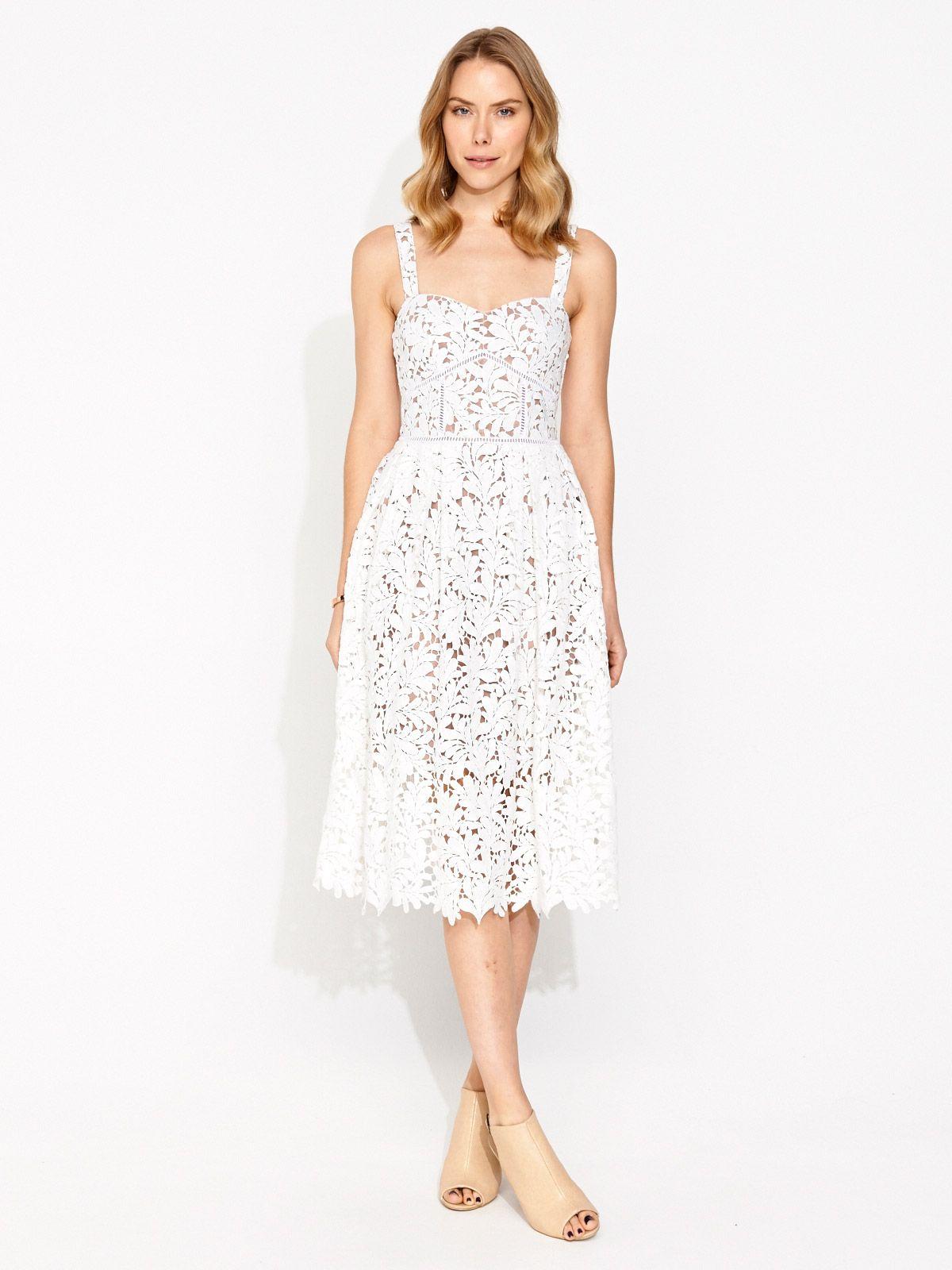 Image for Divine Lace Full Skirt Dress from Portmans $170