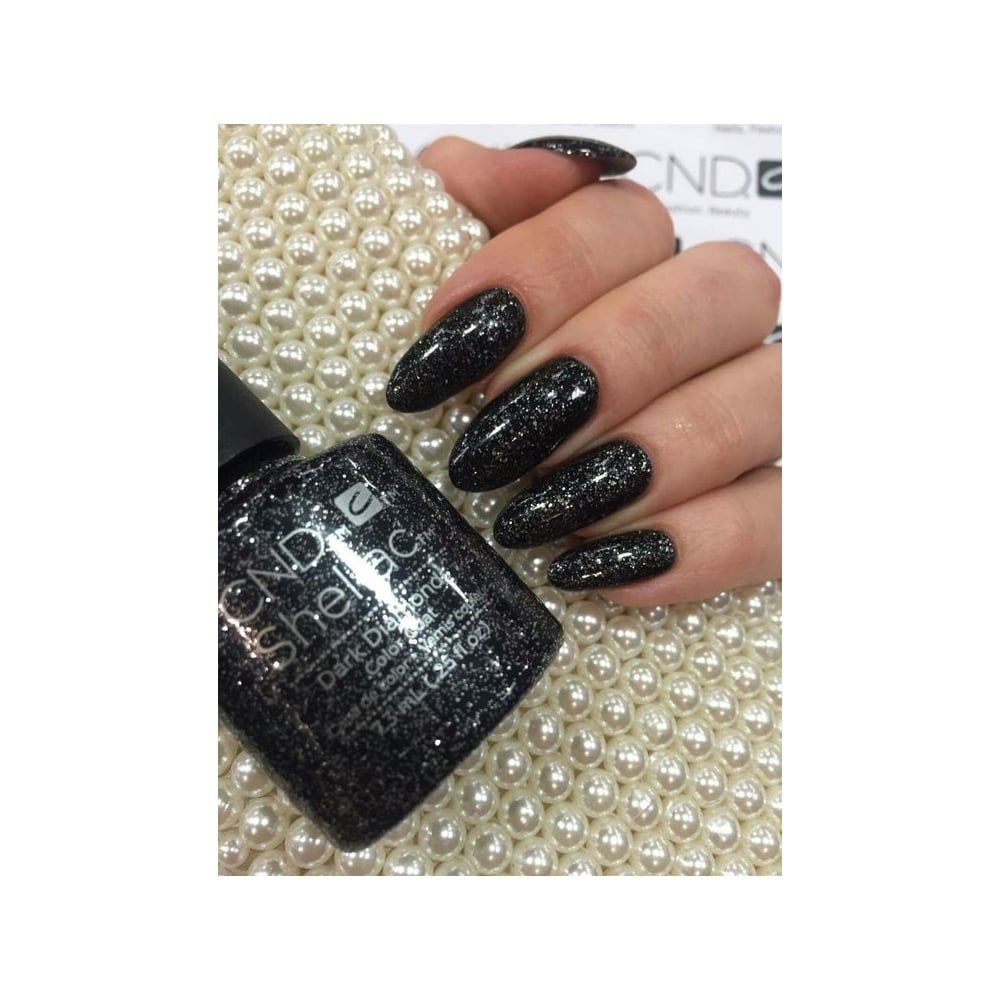 Image result for dark diamonds.CND | Nails | Pinterest | Shellac ...