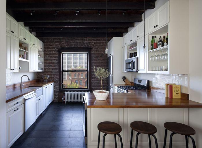 Интерьеры Ньюйорка От Blair Harris  House Beautiful Kitchen Mesmerizing Brooklyn Kitchen Design Design Inspiration