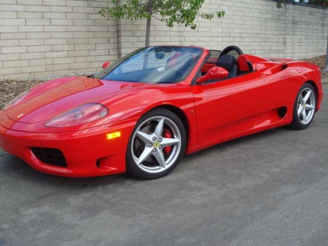2002 Ferrari 360 Spider F1 Always Loved The Lines Of This Car A