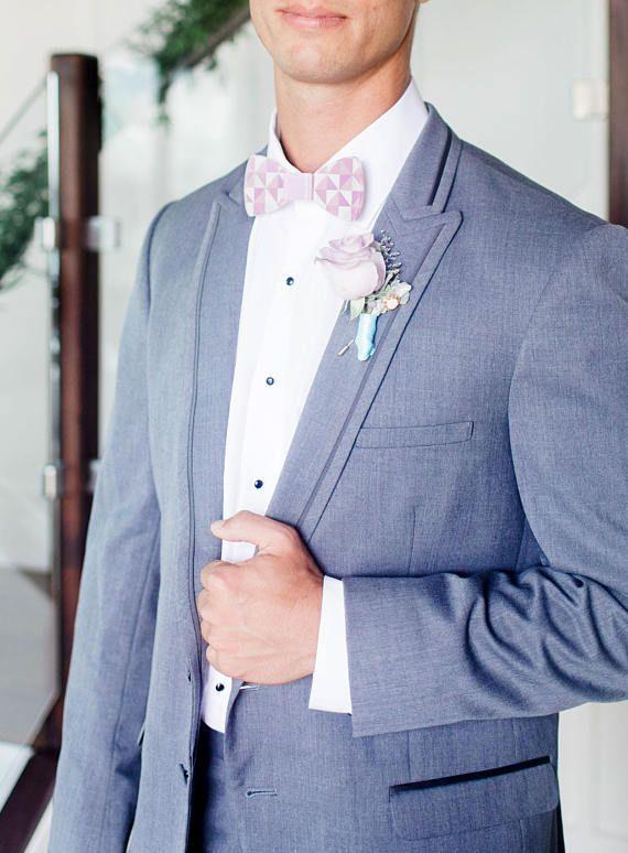 Bowtie For Wedding Acrylic Groom & Groomsmen Bowtie In