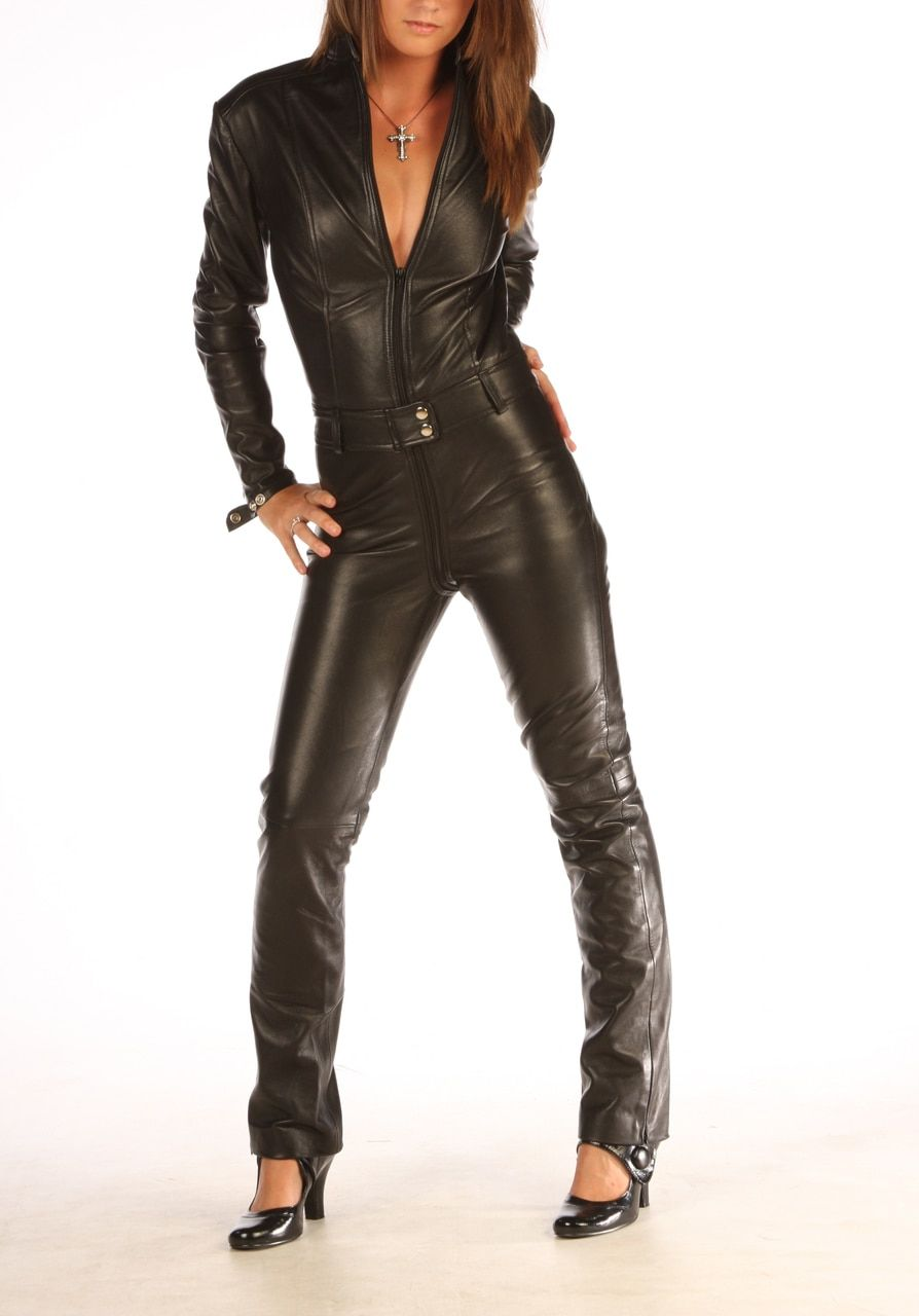 aa07df55406 Made to Measure Leather Catsuit jumpsuit playsuit For Men Women ...
