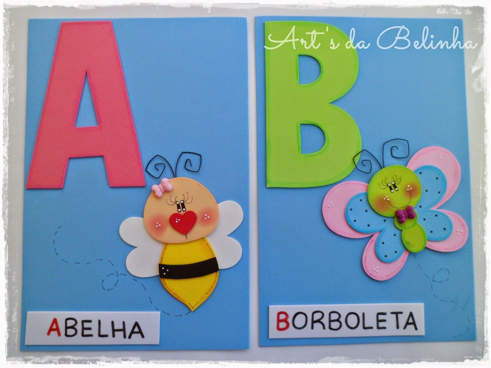 Art S Da Belinha Cartazes Alfabeto De Eva Alfabetizacao Na