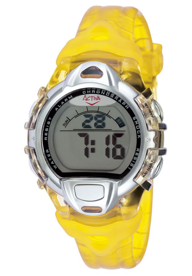 Price:$12.99 #watches Activa AD015-005, Comfortable, simple and just the features you need. Spend more time on your pace and less time keeping track of it with this Activa watch.