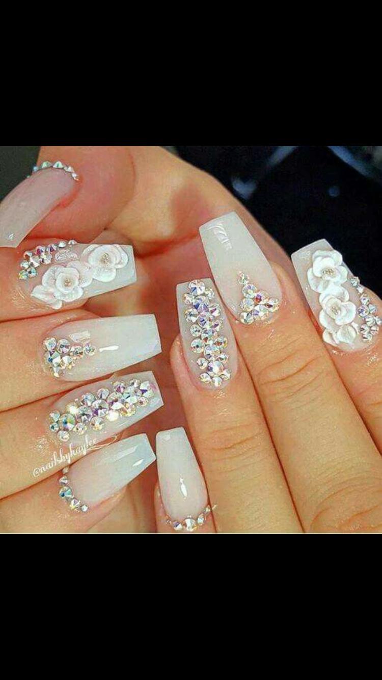 Pin by Yuyis on Uñas Acrilicas | Pinterest | Luxury nails, Acrylic ...