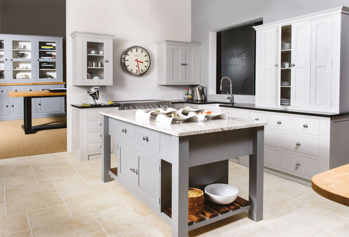 Perfect Living Kitchen From Creamery Kitchens: Traditional Handmade Kitchens With A  Contemporary Feel. Simple Kitchen Designs For The Demands Of Modern Living.