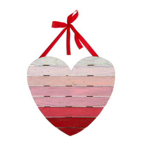 Ombre Painted Wood Heart Pallet Sign With Hanger New Items In 2020 Heart Wall Decor Wooden Hearts Heart Wall