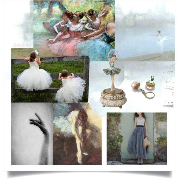 Dreams ~ Tiny Dancer. Inspired by the beautiful paintings of Edgar Degas, ballet lessons, and my old music box (which I still have).
