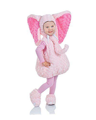 Underwraps Baby\u0027s Elephant Belly-Babies, Pink, X-Large Un - toddler girl halloween costume ideas