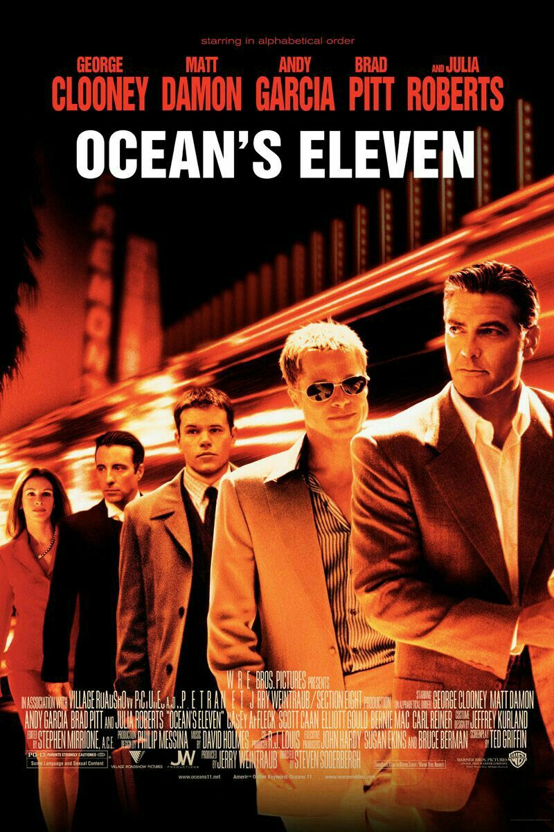 Pin By Jack D On Affiches Films Preferes Oceans Eleven Eleven Movie Ocean S Eleven
