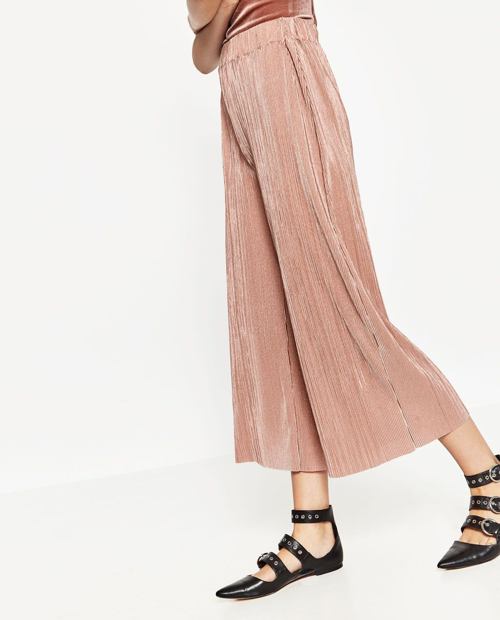 Image 3 of PLEATED TROUSERS from Zara | Summer 2016 | Pinterest ...