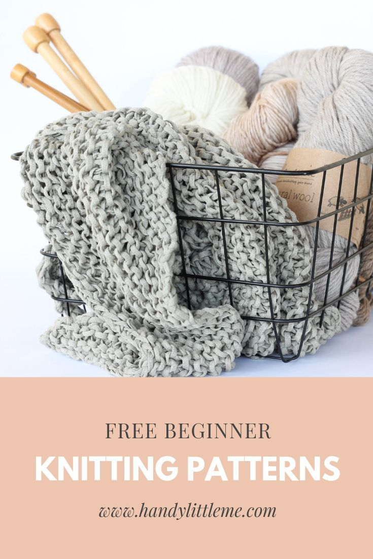 Photo of Knitting Patterns For Beginners