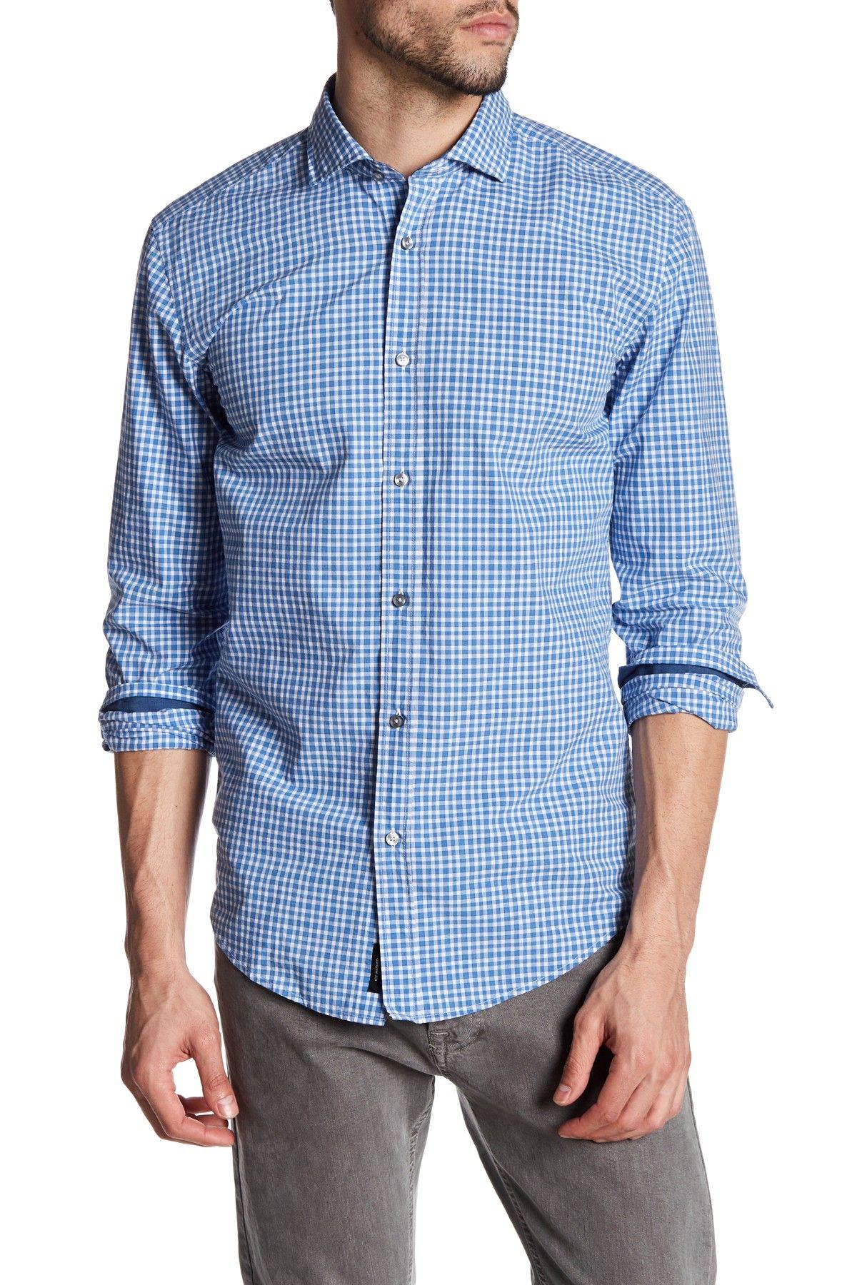 Ridley Slim Fit Plaid Shirt